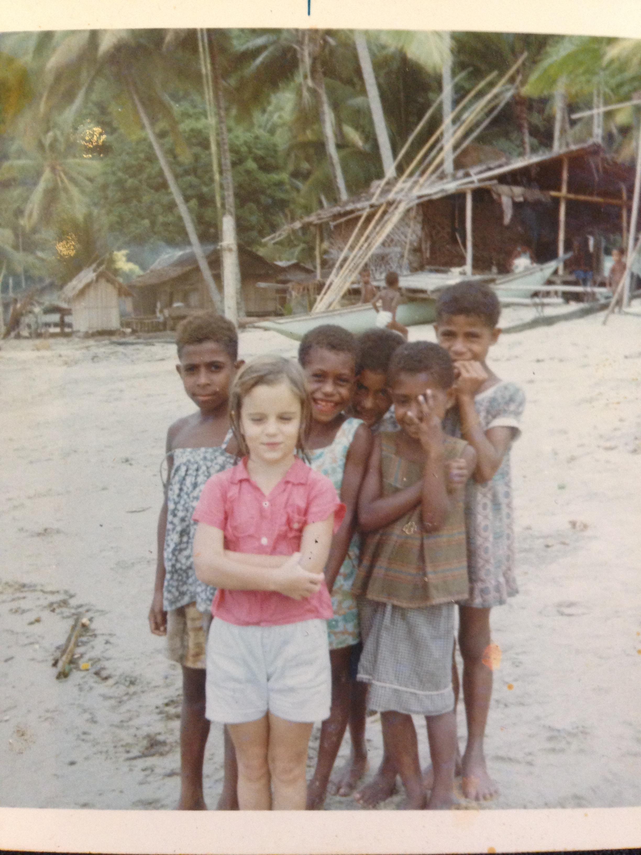 Josephine Pennicott in Lae Papua New Guinea