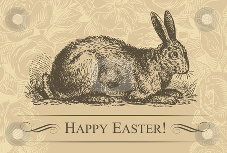 cutcaster-photo-100777731-vintage-easter-card-vector