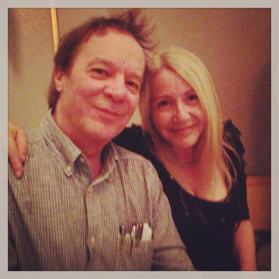 Ian Irvine and Traci Harding