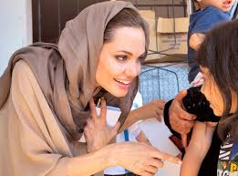 The beautiful and inspiring Angelina Jolie