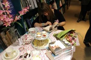 Josephine Pennicott signing Currawong Manor