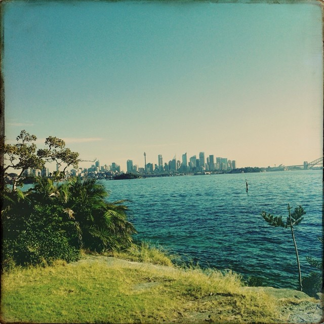 Billion dollar views. Sydney Looking glorious #sharkisland #sydney #spirit