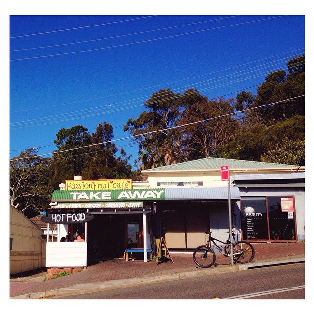 The Passionfruit Cafe. I love a little Australian milk bar. #familyfundaysunday #sydney #australia