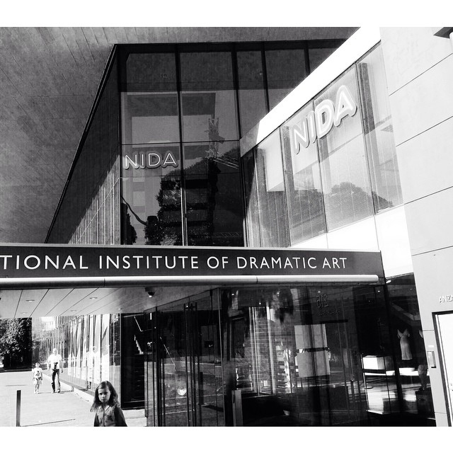 Always love soaking up the atmosphere of NIDA. So much creative inspiration with its theatre, costumes, directors and production buzz. #daisy #nida #sydney #actor #creativity #inspiration