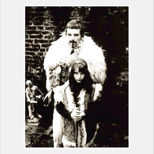 A young Kate Bush with her father. #inspiration #spirit #muse #memorylane