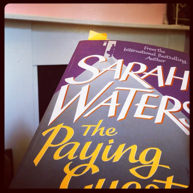 Home sick again which is annoying when there's so much to do but the plus side is I read The Paying Guests in two days. Sarah Waters is a genius at transporting you into the world of her characters and 1922. A beautifully written mystery and love story that has to be one of my favourite books this year. #thepayingguests #sarahwaters #1922 #bookworm #mystery #romance