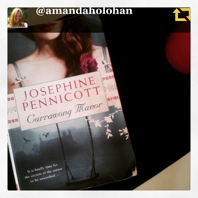 RG @amandaholohan: Just finished reading Josephine Pennicott's beautifully woven mystery Currawong Manor. Wonderful book. Mx