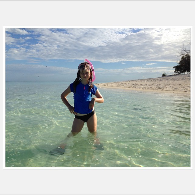 Island Girl So thrilled @daizyiscrazy was able to snorkel to the ship wreck with water over ten feet and several sharks and sting-rays. Hopefully next trip I will do the same. #heronisland #natureismedicine #greatbarrierreef #paradise #family