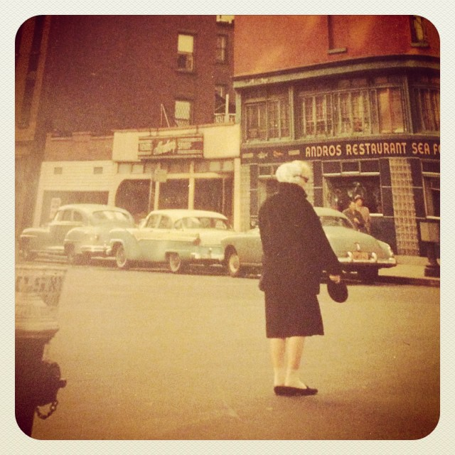 Marilyn Monroe at the corner of 93rd Street and Lexington Avenue in 1956. #alone #legend #marilynmonroe #jameshaspiel
