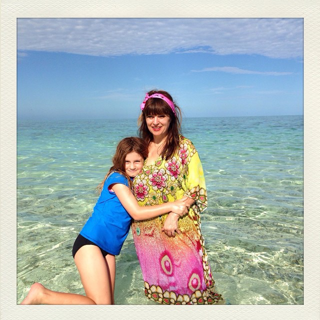 Island Troppo symptom - I now dress like a tropical fish!! ? Where are my black florals? Another Troppo symptom - I no longer pine for snow and mist but want to live on a tropical Island forever watching the seasons pass in the endless blue. ???? #heronisland #greatbarrierreef #queensland #paradise
