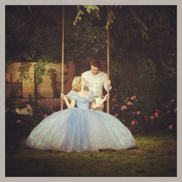Kindness, Courage, Magic and secret gardens. Loved this movie #Cinderella #kennethbranagh #secretgardens