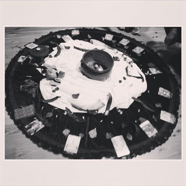 Equinox meditation in Newtown #timeofchange #equinox #balance #asabovesobelow #ritual #spirit #autumn