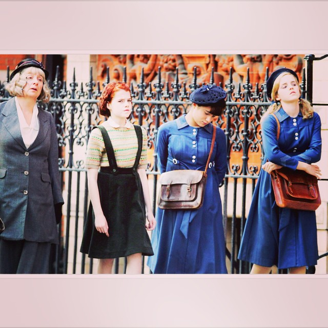 Nana, Posy, Petrova and Pauline Fossil in Noel Streatfeild's Ballet Shoes. Dreams do come true. #fridaynightfamilymovie #noelstreatfeild  #emmawatsonlove #thosefabulousfossils