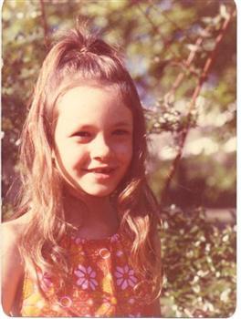 Kate Forsyth at seven