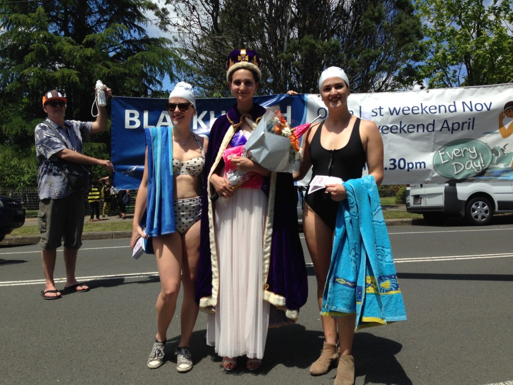 Blackheath Rhododendron Festival Queen for 2015 Eleni Vergotis