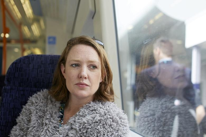 image of Paula Hawkins via The Times