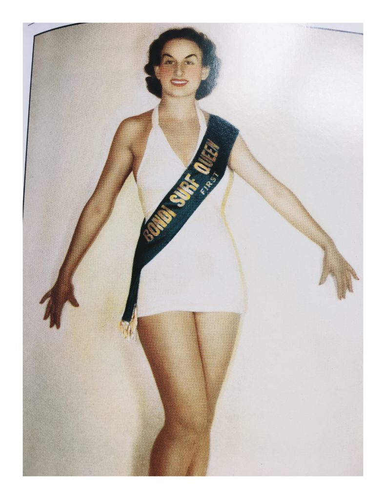 Miss Bondi Surf Queen 1937