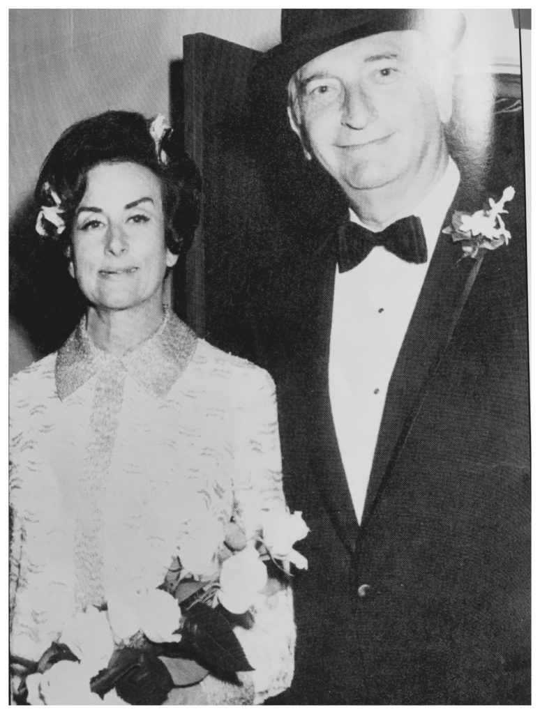 Pearl marrying Sydney Goldman, 1969