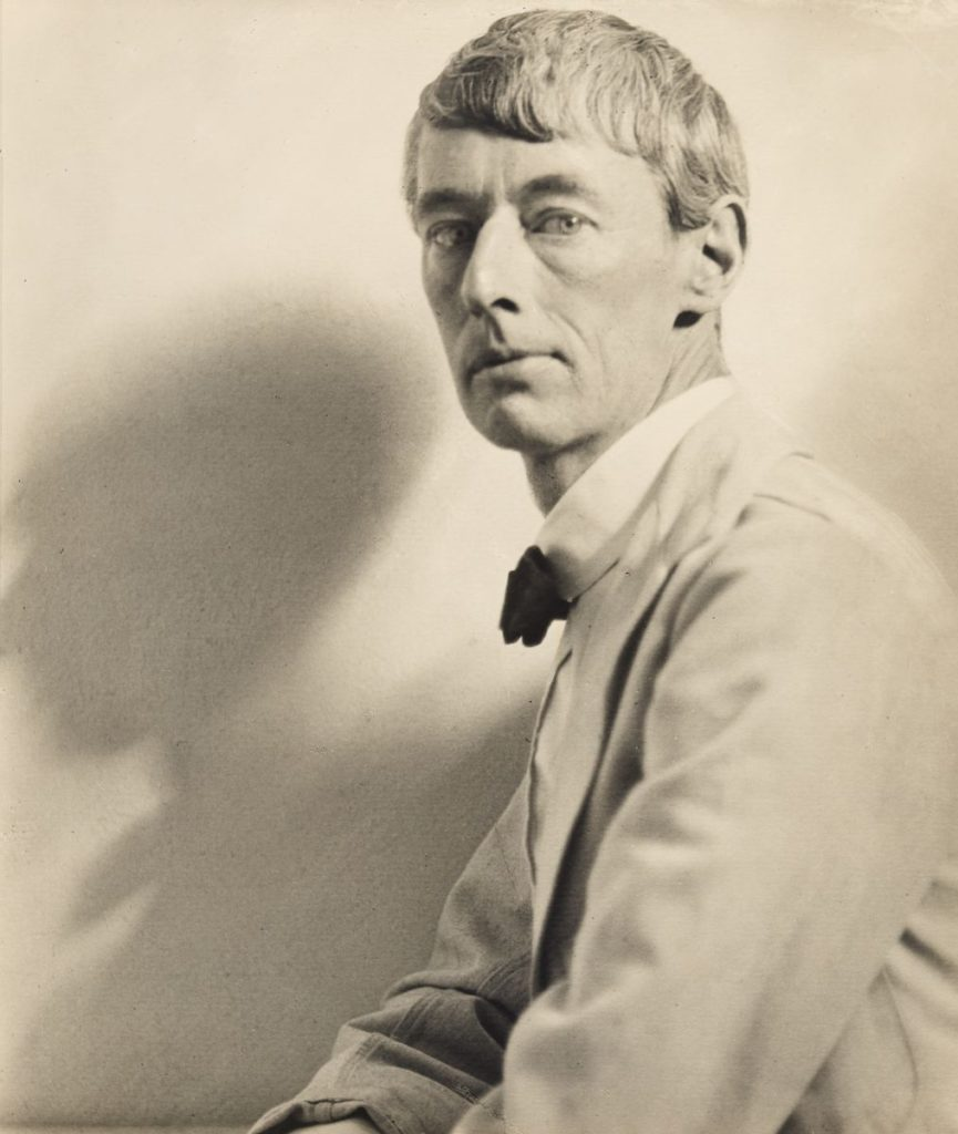 Norman Lindsay photo by Harold Cazneaux