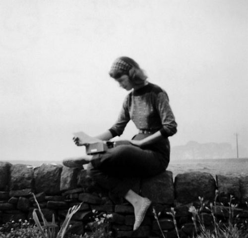 Sylvia Plath in Yorkshire September 1956