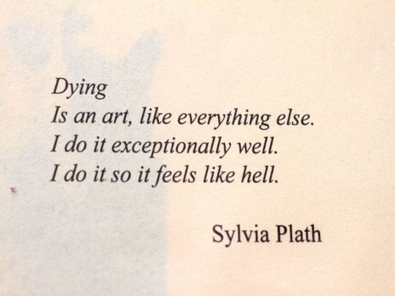 dying is an art