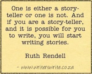 Ruth Rendell quote